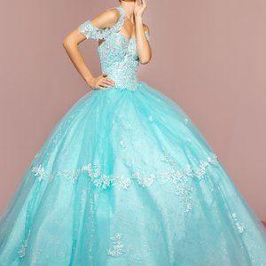 Sweetheart Neck Ballgown Shape Prom Dress GSGL2602